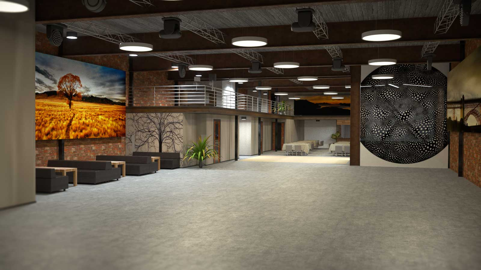 969 Market Is A 17,000 Sf Event Venue With Over 1300 Person Capacity Spread  Over 3 Floors We Offer Leading Edge Embedded Event Solutions For Immersive